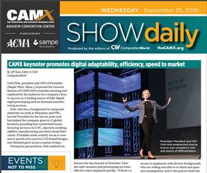 CAMX SHow Daily