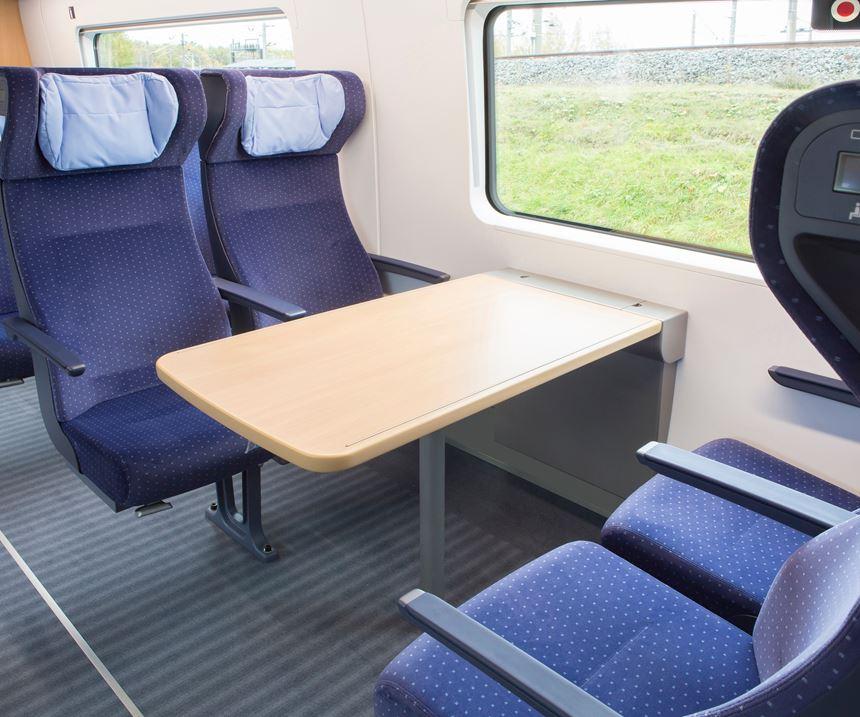 Composite rail car floors in Deutsche Bahn's ICE trains use SAERTEX LEO SYSTEM