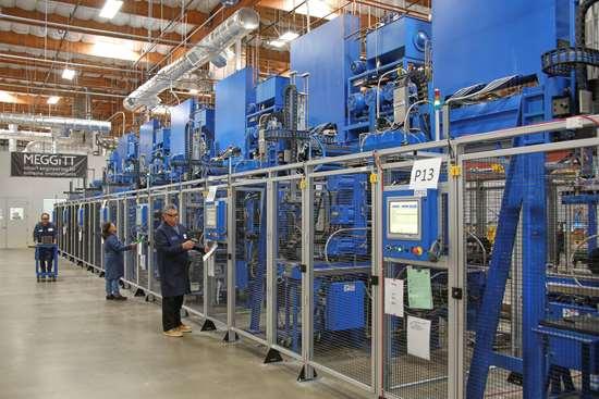 Meggitt Polymers & Composites presses