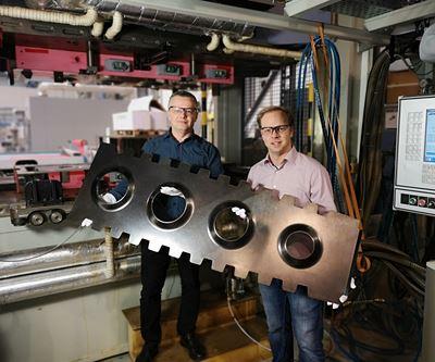 HP-RTM for aerospace composites