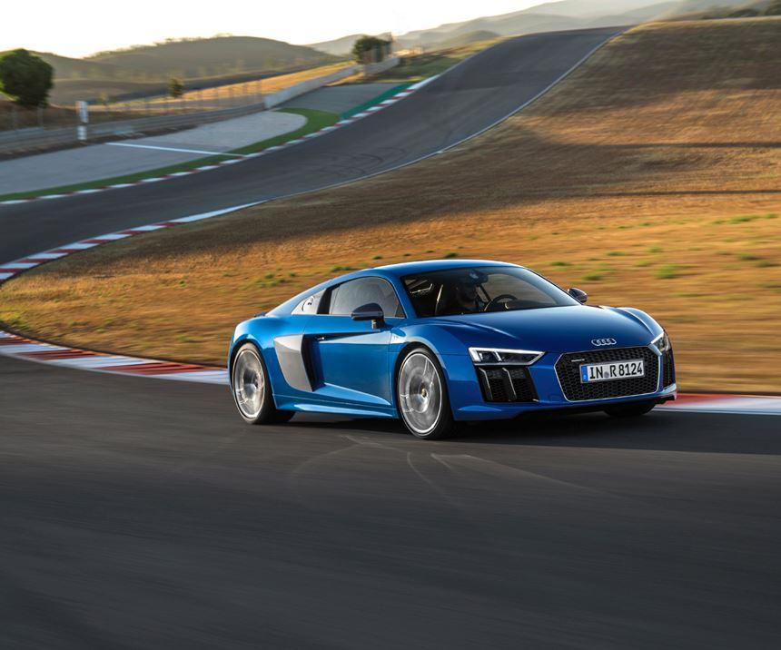 Audi automotive composites