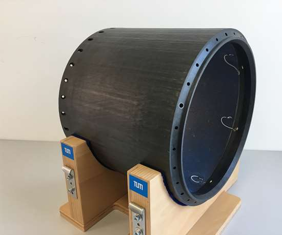 carbon fiber-reinforced plastic rocket module