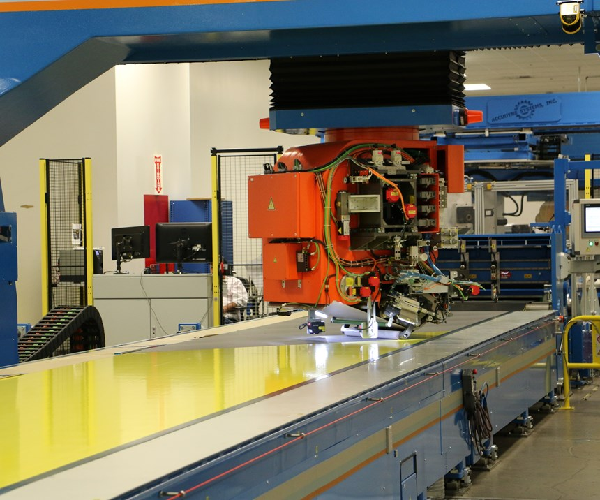 automated spar forming