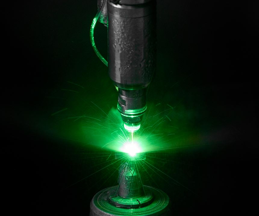 laser ablation via waterjet