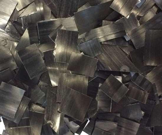 reuse of thermoplastic tape scrap