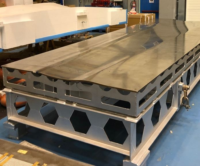 steel tooling for aerospace part fabrication