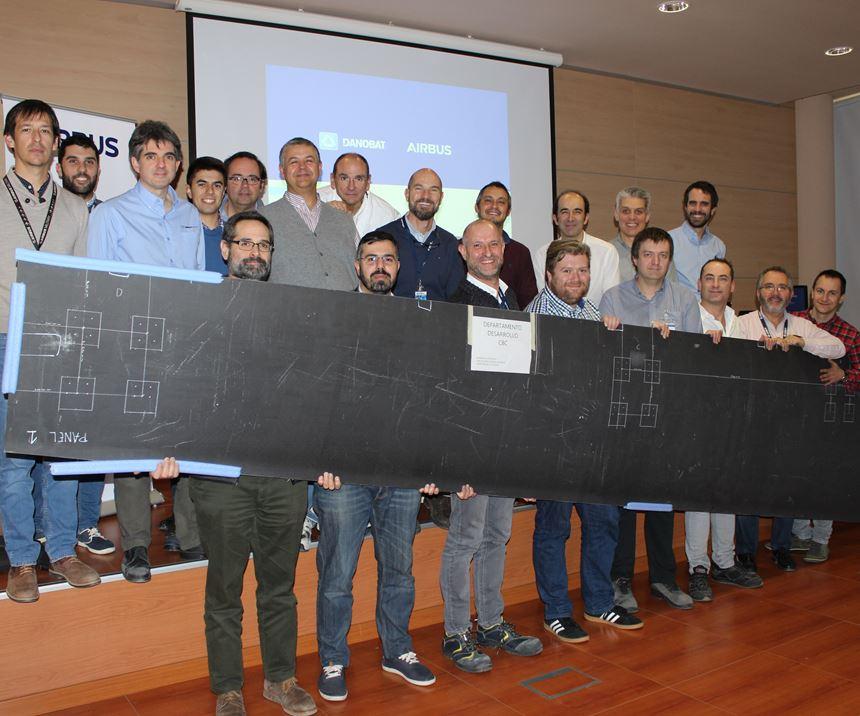 Danobat team for composite aerospace fabrication