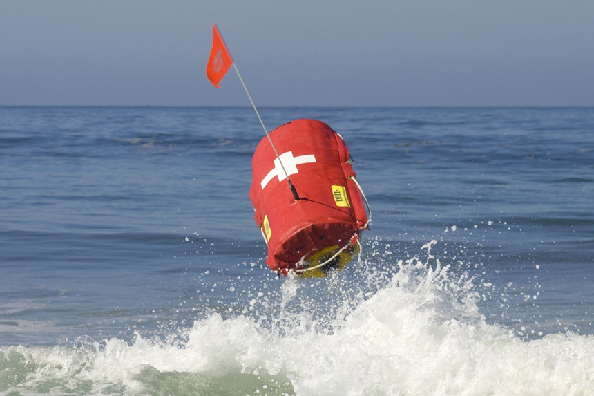 Hydronalix: Unmanned Composite Rescue Buoy for Emergency Lifesaving Operations