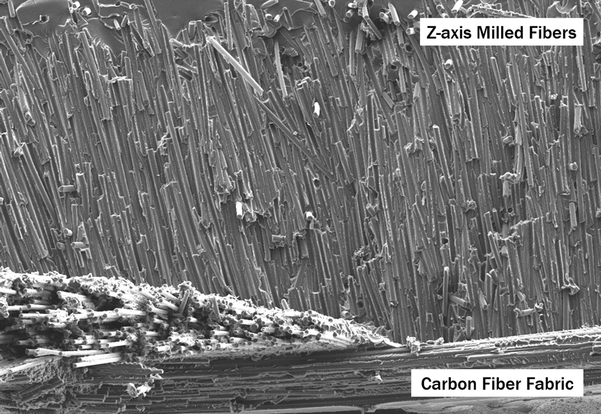Boston Materials: Novel Z-Axis Milled Carbon Fiber Reinforcement Using Sustainable Materials