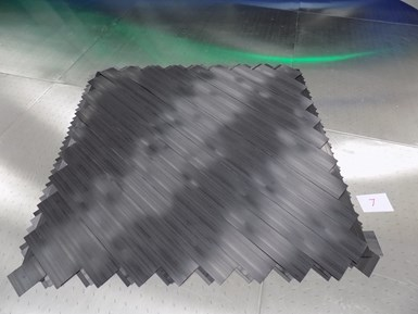 tailored laminate blanks via automated tape laying (ATL)