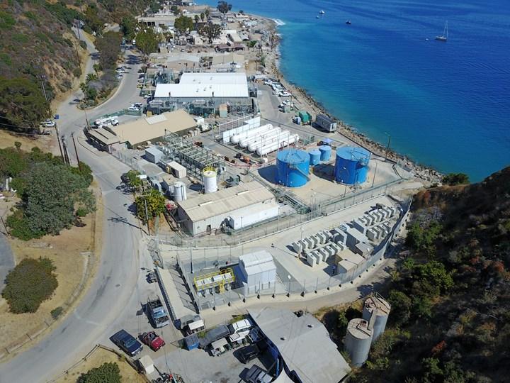 Santa Catalina Island saltwater desalination facility