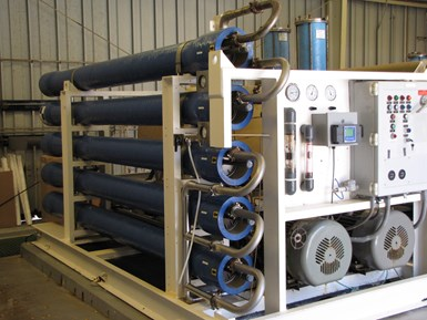 composites for saltwater desalination