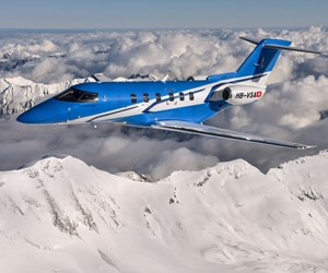 Prepreg cutting system reduces waste, speeds assembly of Swiss business jet