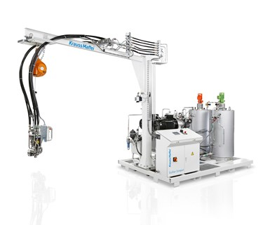 EcoStar mixing and metering machine