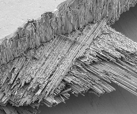 Boston Materials Carbon Supercomposite micrograph