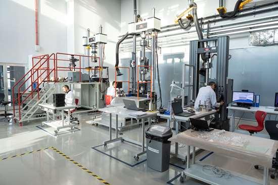 Kordsa composites lab.