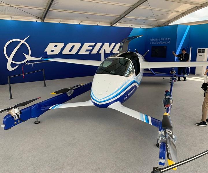 Paris Air Show 2019 Boeing EVTOL