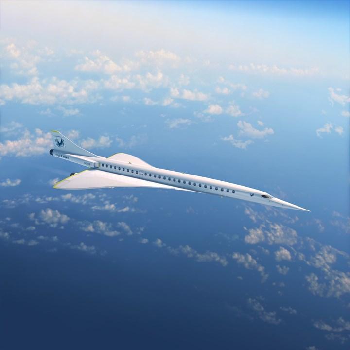 Paris Air Show 2019 Boom Aerospace Overture craft