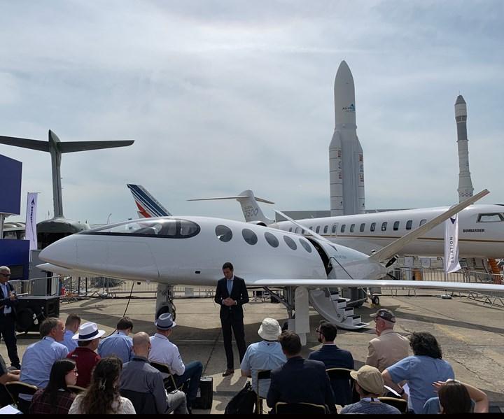 Paris Air Show 2019 Eviation Alice introduction