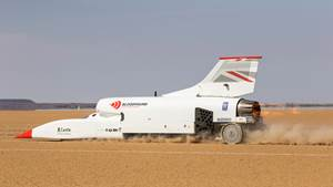 Bloodhound hits 501 mph in latest test run