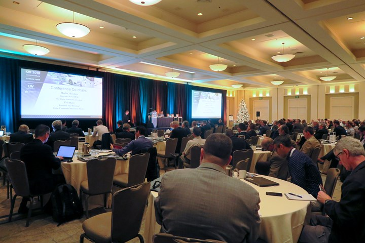 Carbon Fiber 2018 conference full room
