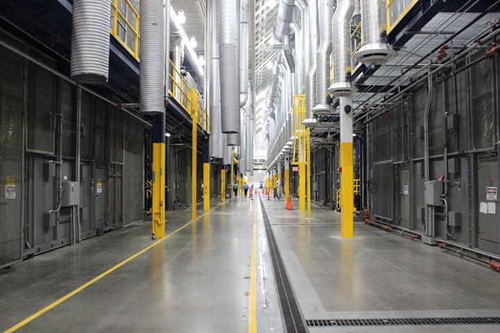 SGL Carbon carbon fiber production line Moses Lake, WA, US
