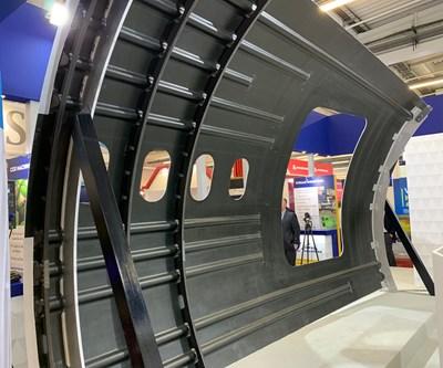 Spirit Aerosystems Debuts Next Generation Composite Fuselage Panel Compositesworld