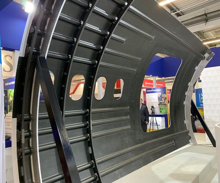 Spirit AeroSystems ASTRA fuselage demonstrator