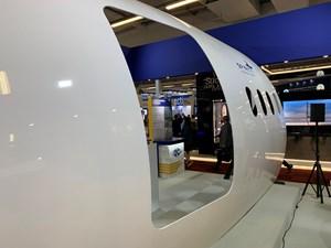 Paris Air Show 2019 Spirit AeroSystems fuselage panel