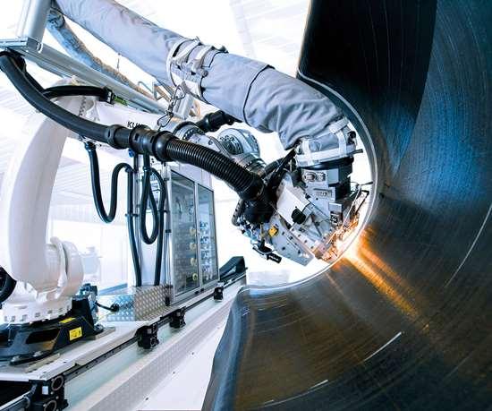Coriolis/Victrex thermoplastic tap ATL/AFP, JEC World 2019