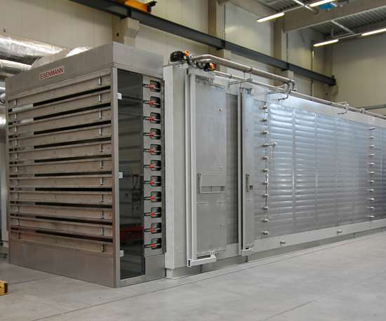 Eisenmann E2E oxidation oven for carbon fiber manufacture, JEC World 2019