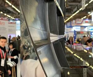thermoplastic composite fuselage panel