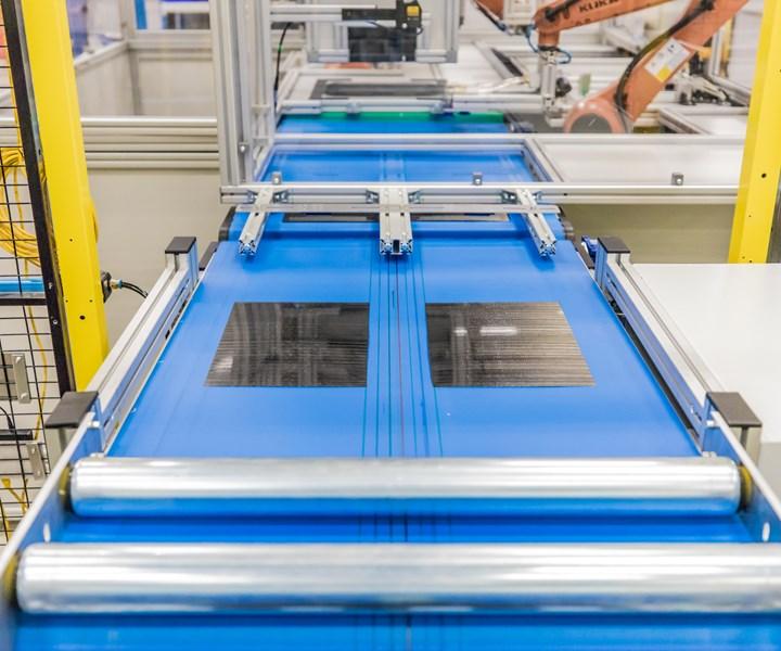 SABIC digital composites manufacturing line