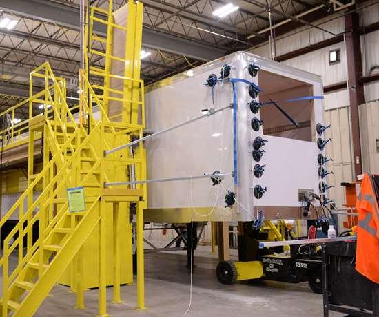 composite trailer panel