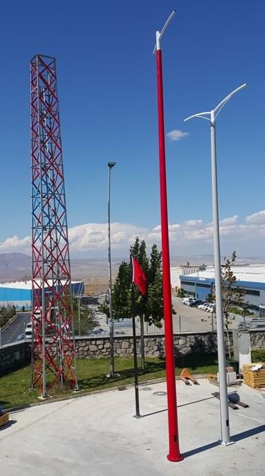 composite filament winding utility poles