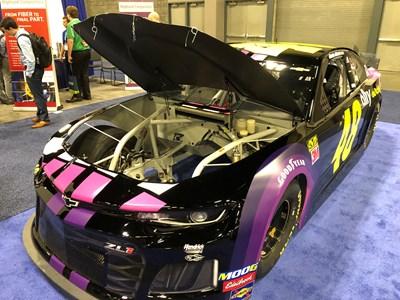 carbon fiber composites in NASCAR