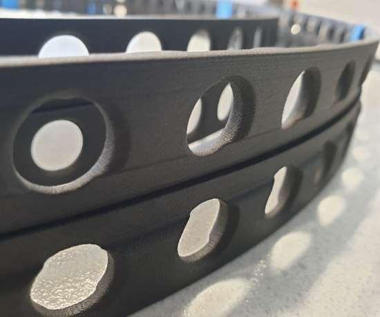 carbon fiber bearing cage for catamaran