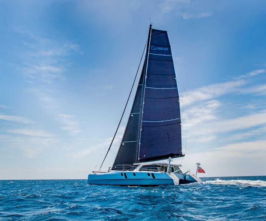 carbon fiber parts for catamaran