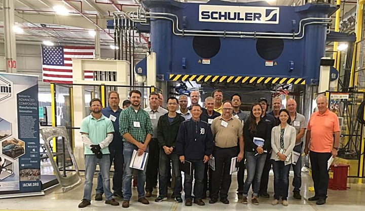 sheet molding compound (SMC) workshop