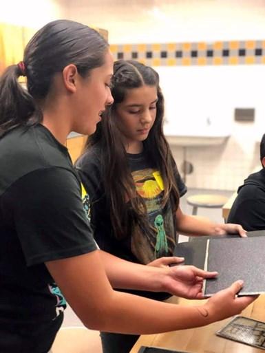 high school composites fabrication lab