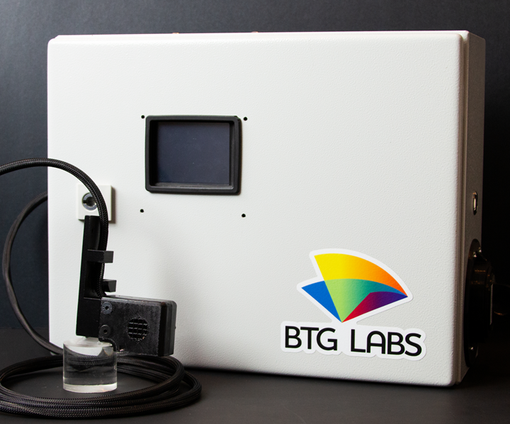 BTG Labs composites surface testing