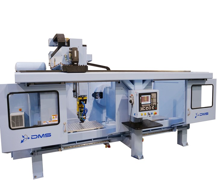 CAMX 2019 Diversified Machine Systems 5-axis CNC router