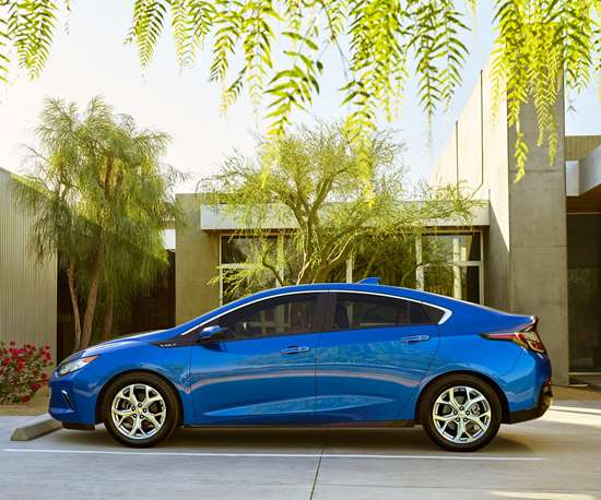 Chevy Volt hybrid electric vehicle