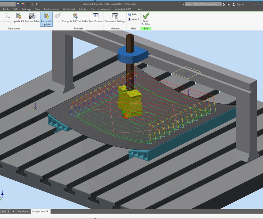 composite simulation software for AFP/ATL