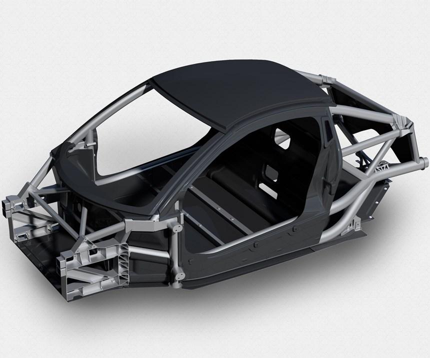recycled carbon fiber for automotive composites