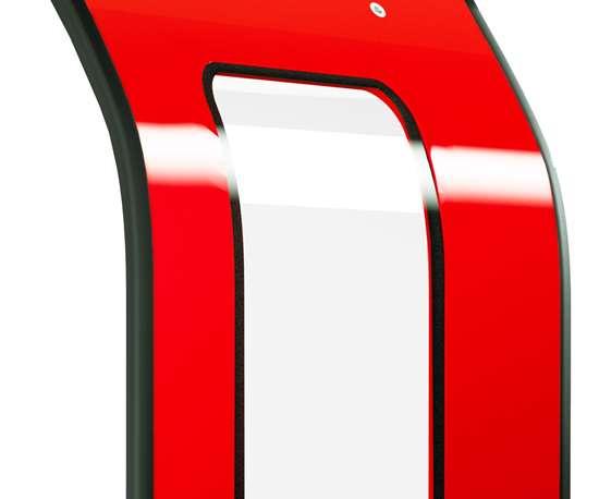 TRB Lightweight Solutions rail car door leaf made from bio-based PFA prepreg