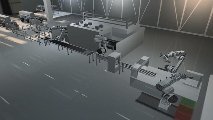 SABIC digital manufacturing production line