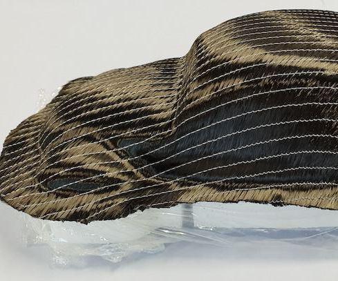 carbon fiber-reinforced plastic (CFRP) preform