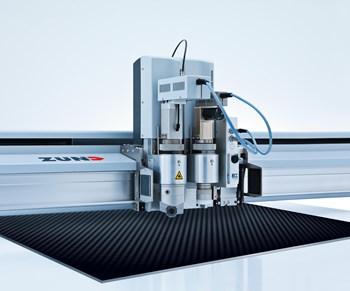Zund cutting composites JEC World 2019