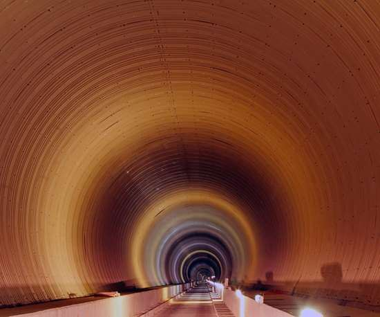 Pajares railway tunnel lined with composite panels using Scott Bader Crestapol 1212 resin